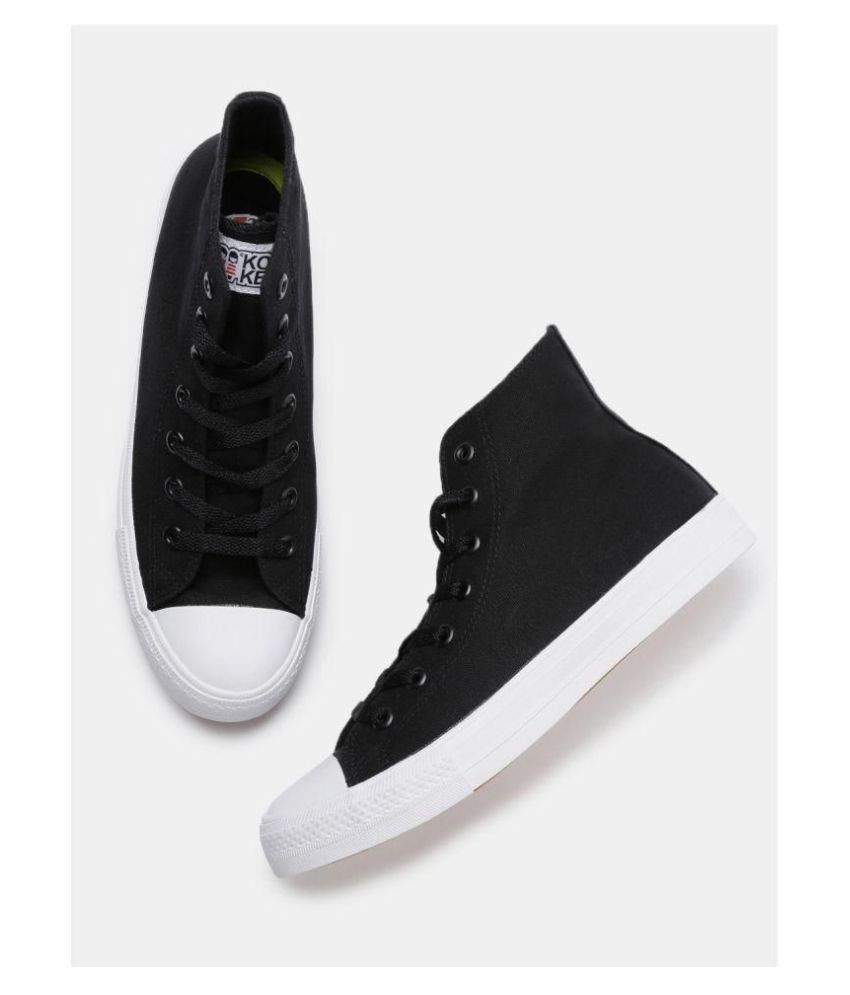 820b33baa kook n keech Sneakers Black Casual Shoes - Buy kook n keech Sneakers Black Casual  Shoes Online at Best Prices in India on Snapdeal