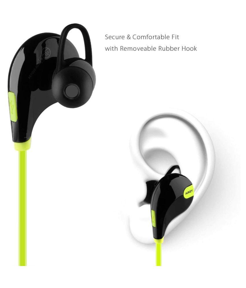 00ef2c44059 ... Wireless In Ear Wireless Earphones With Mic - Buy ANIMATE Bluetooth  Headphone Neckband Wireless In Ear Wireless Earphones With Mic Online at Best  Prices ...