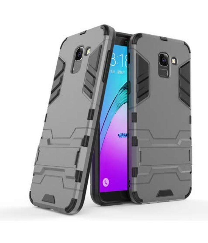 Samsung Galaxy J6 Defender Series Covers Zocardo - Grey