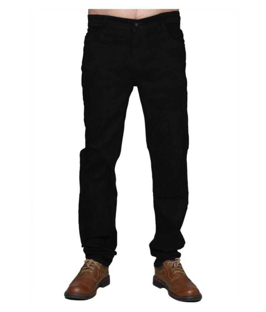 Suvidha Exports Black Slim Jeans