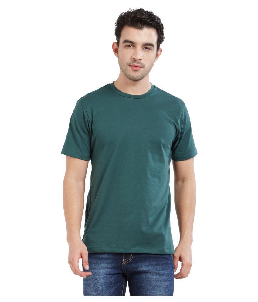 XYXX Green Half Sleeve T-Shirt Pack of 1