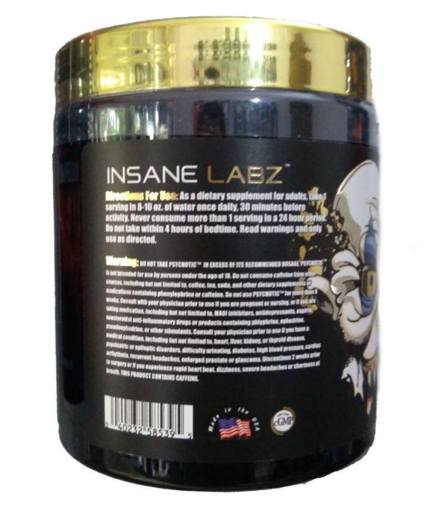 Insane Labz Psychotic Gold Pre Workout Orange 202 Gm Buy Insane