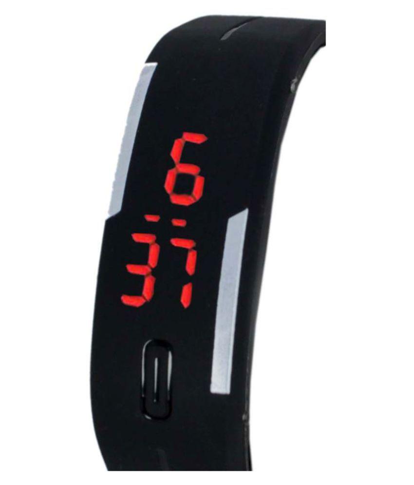 7c35140085c 746132 PU Digital Men s Watch AIVOR WATCH CO. 746132 PU Digital Men s Watch  ...