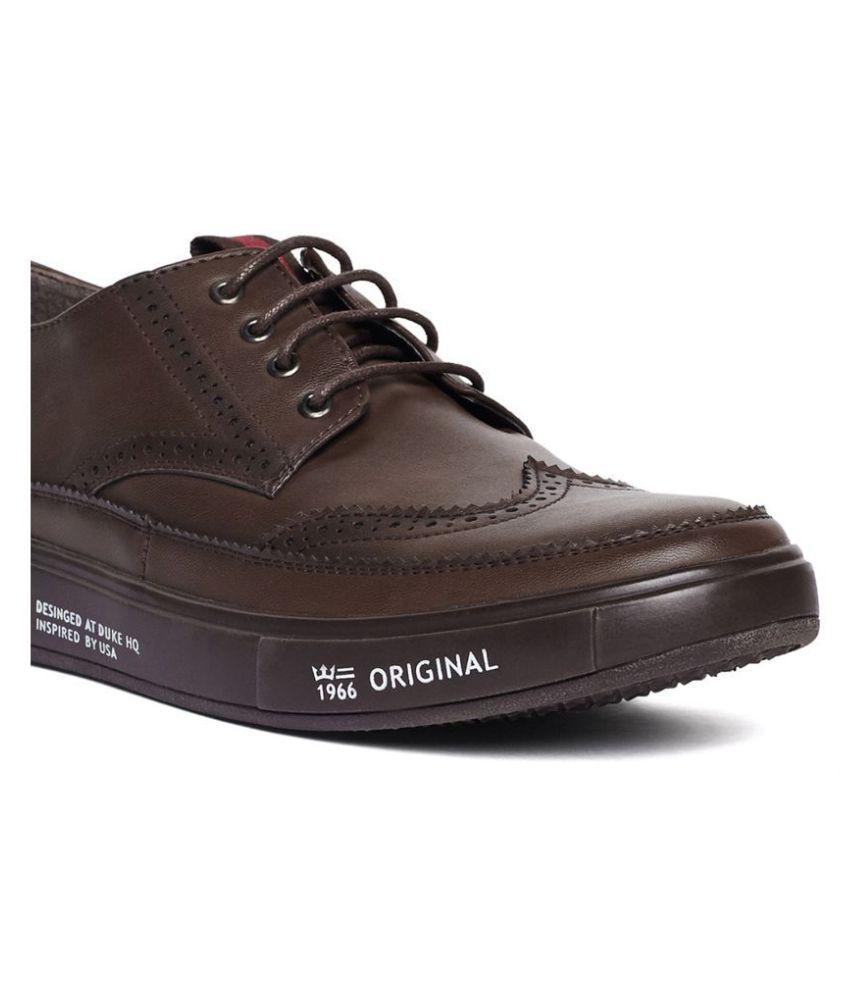 Duke Sneakers Brown Casual Shoes - Buy