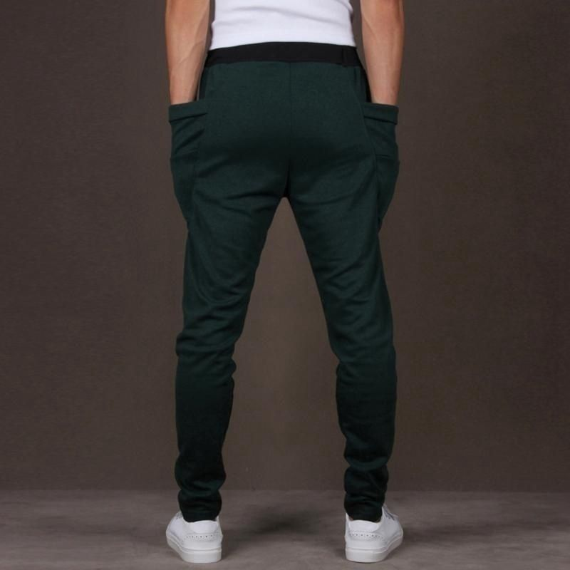 Changing Destiny Multi Tapered -Fit Flat Trousers