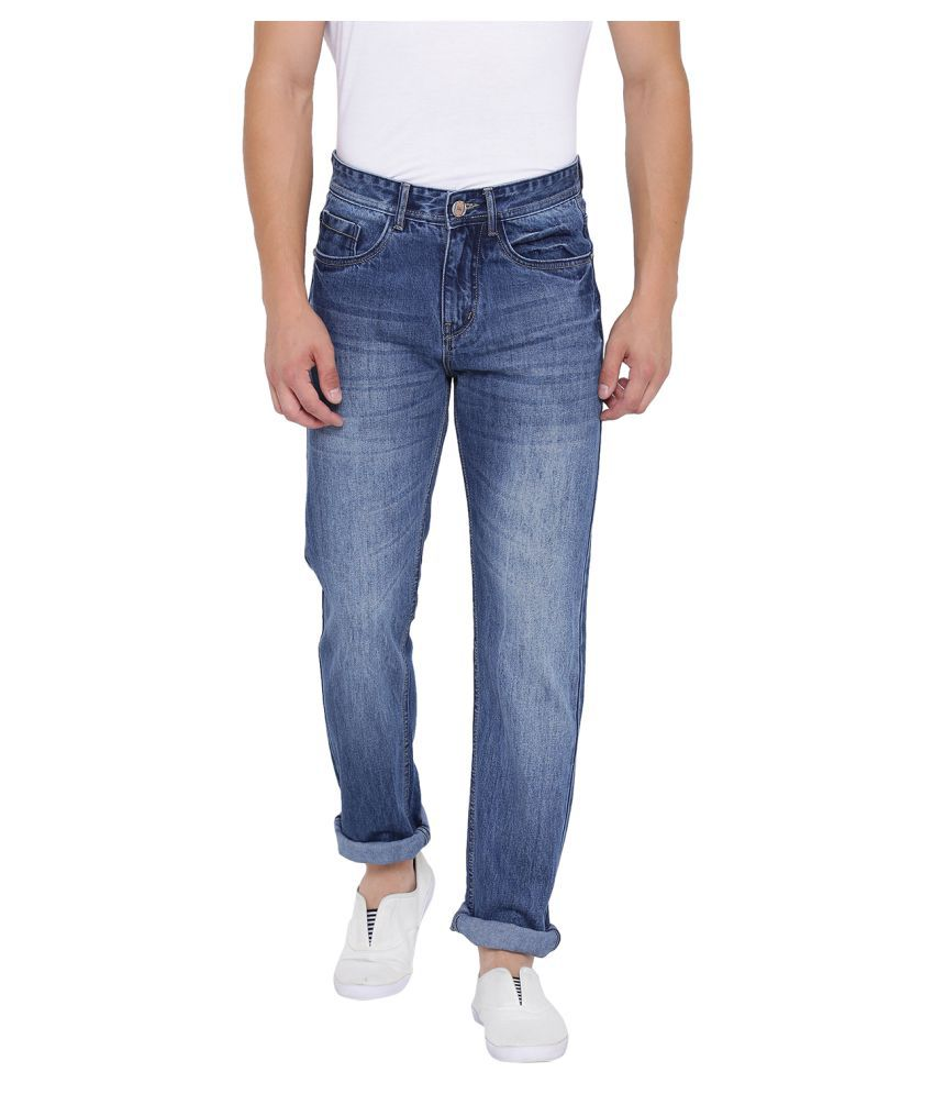 Fever Blue Straight Jeans