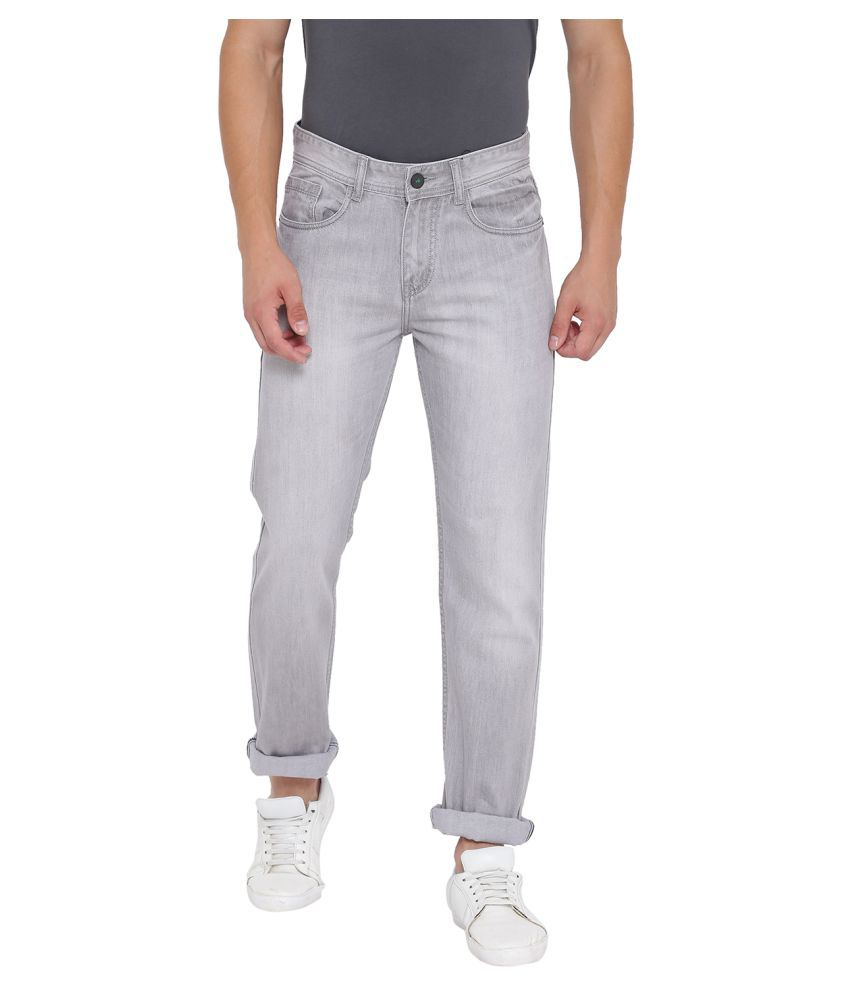 Fever Grey Straight Jeans