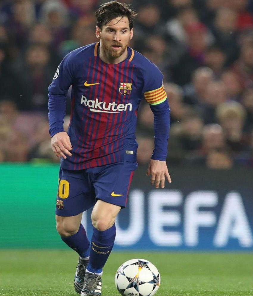 dabbf9b4006 Nike 2018 Messi Barcelona Home Jersey Nike 2018 Messi Barcelona Home Jersey