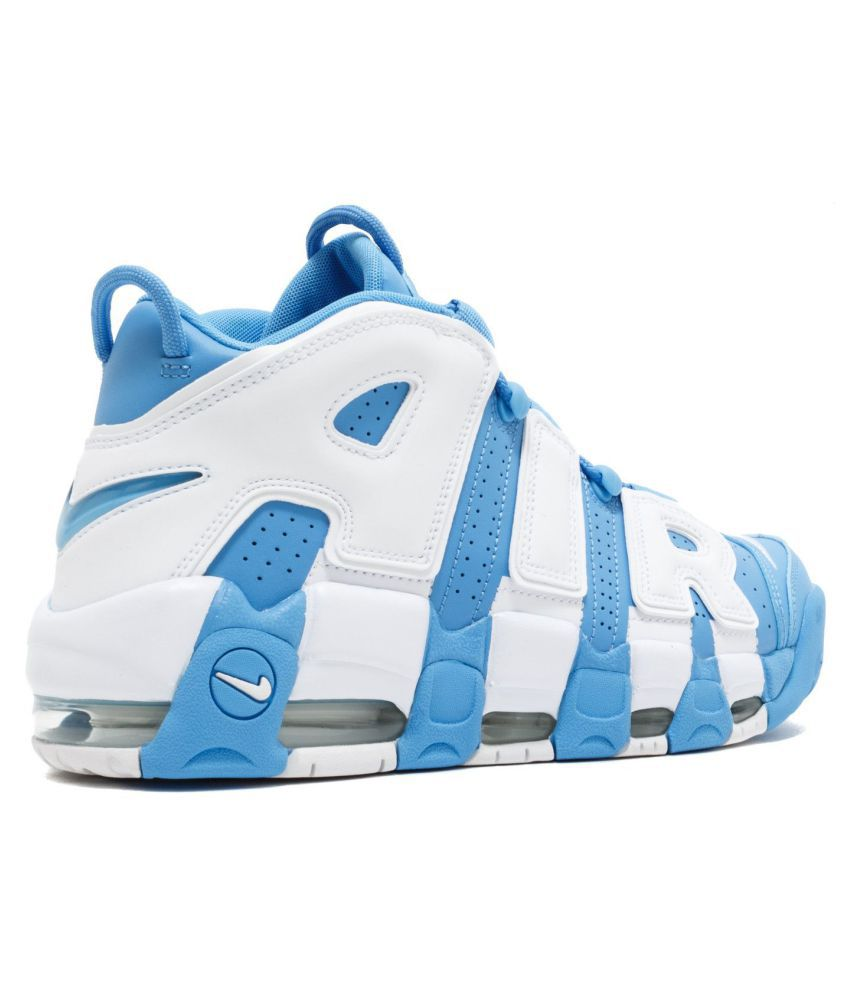 Nike Air More Uptempo University Blue Basketball Shoes - Buy Nike ... c8e68898ca