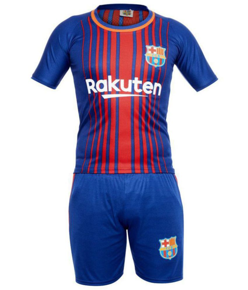 Sportigo Replica KIDS MESSI 10 FC Barcelona Football Jersey Set ... d7cb55647