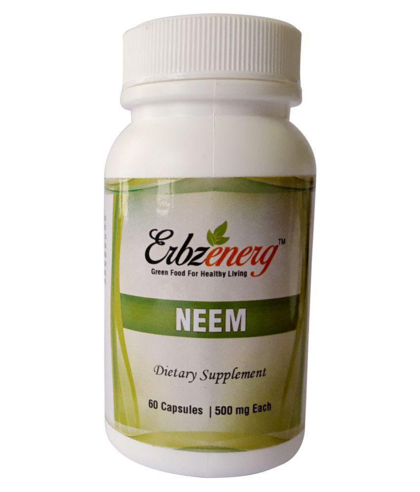 Erbzenerg Neem 60 Capsule 500 mg