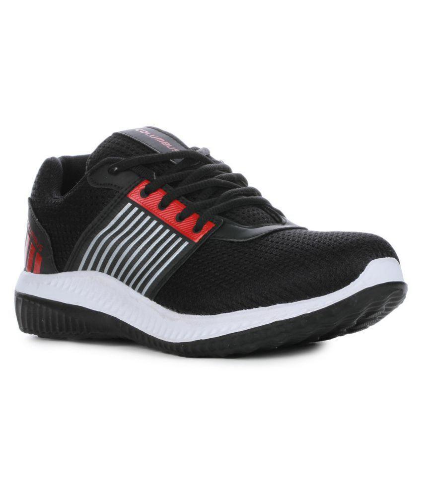 Columbus Black Running Shoes - Buy