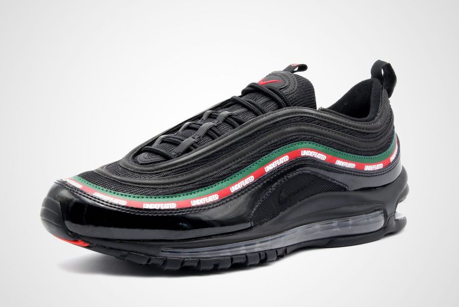 7c6d6244067f Nike Air Max 97 UNDEFEATED Black Running Shoes - Buy Nike Air Max 97 ...