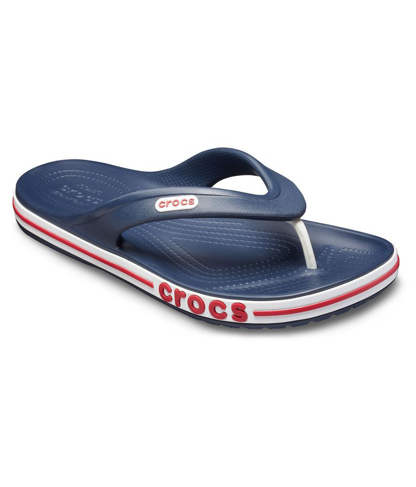 fa3f21921f12 Crocs Bayaband Navy Thong Flip Flop Price in India- Buy Crocs Bayaband Navy Thong  Flip Flop Online at Snapdeal