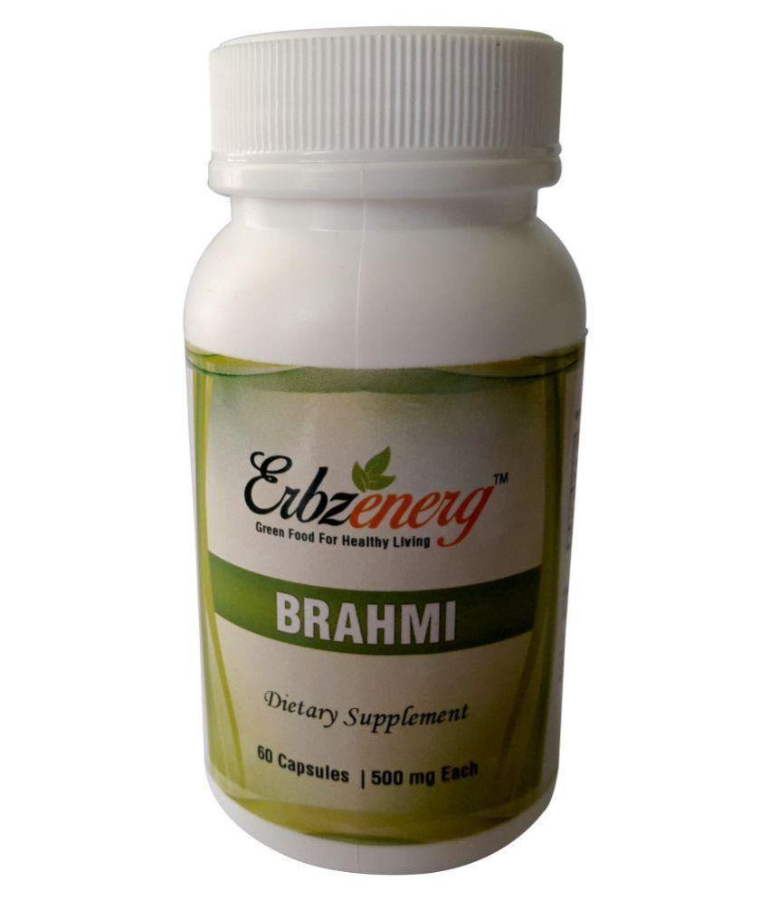 Erbzenerg Brahmi 60 Capsule 500 mg