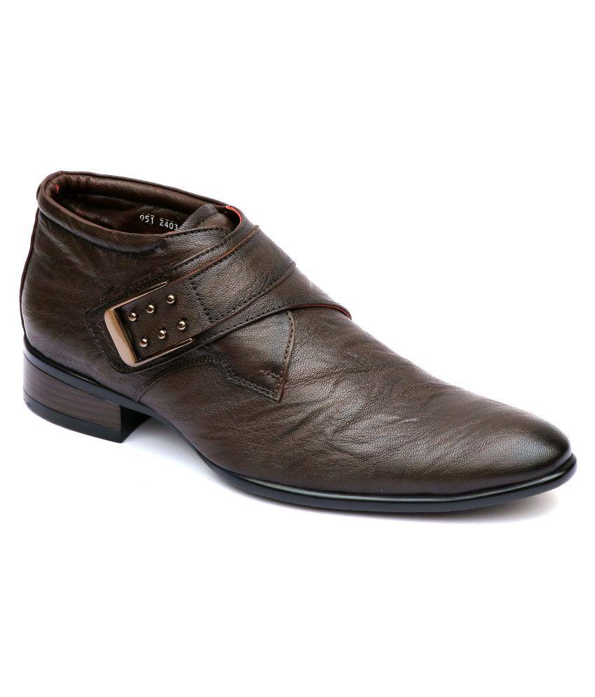 Hitz Brown Casual Boot