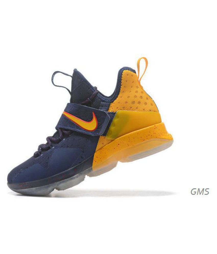f8f593b5557 Nike LeBron 14 Yellow Running Shoes - Buy Nike LeBron 14 Yellow Running  Shoes Online at Best Prices in India on Snapdeal