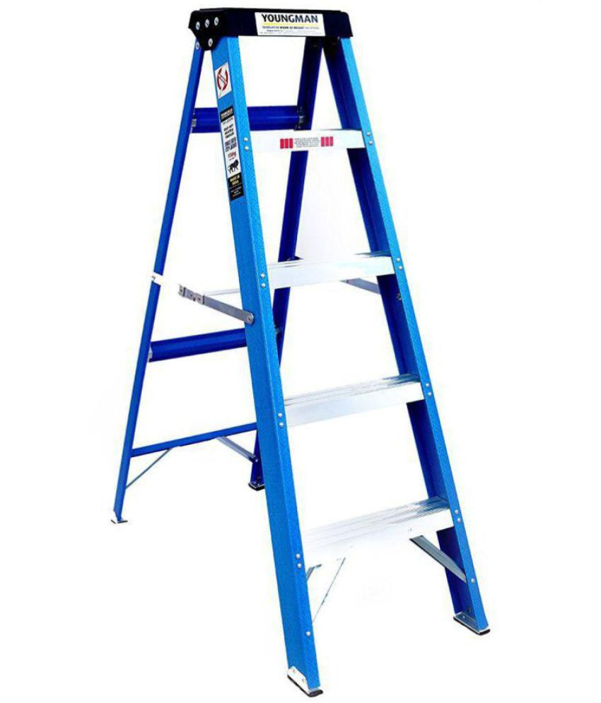 5 Step Electric Shock Proof Ladder With Tool Tray And