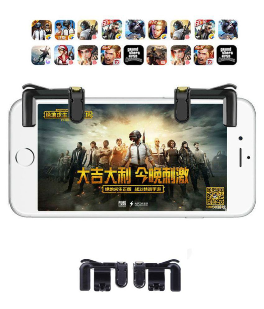 Fortnite L1 R1 PUBG Mobile Phone Trigger Controller L1R1 Shoot Fire Button  Aim Key Smartphone Game Joystick Gamepad For iPhone