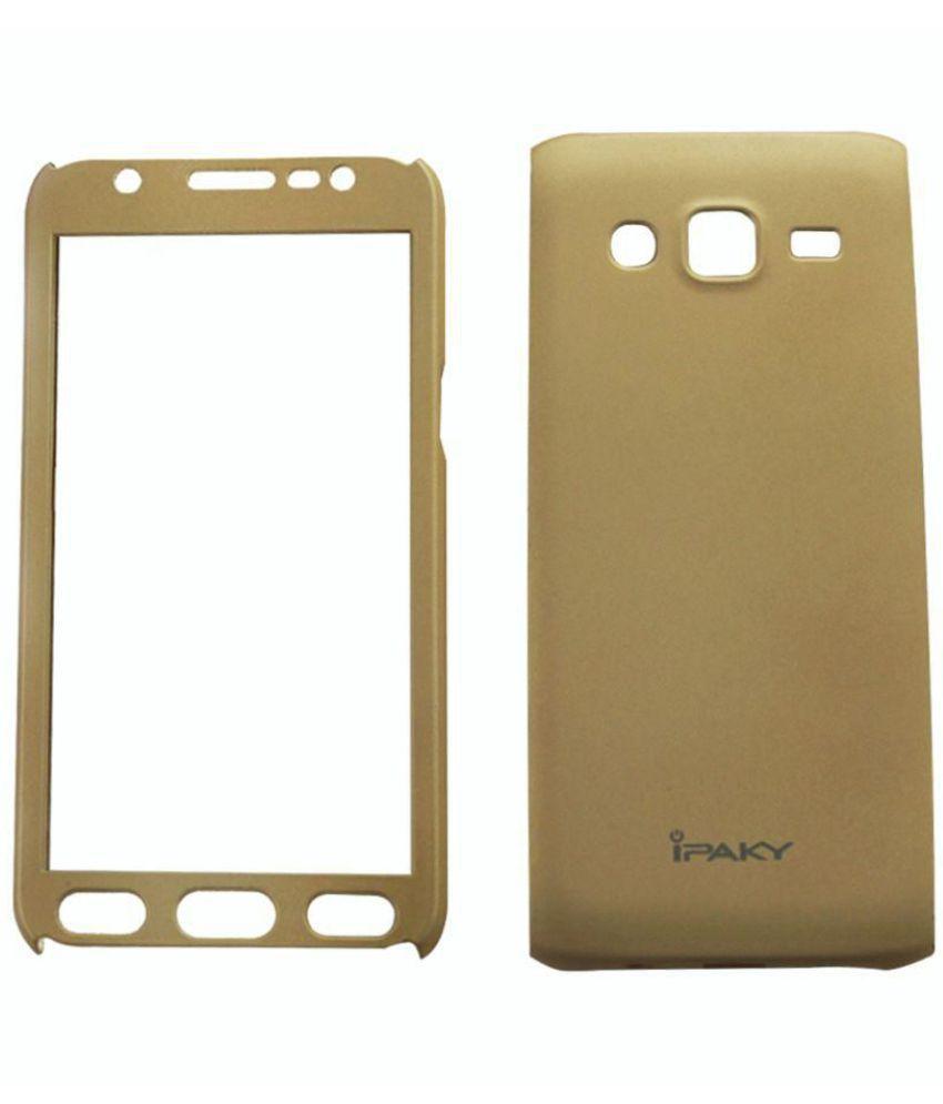 Oppo F5 Plain Cases Sedoka - Golden