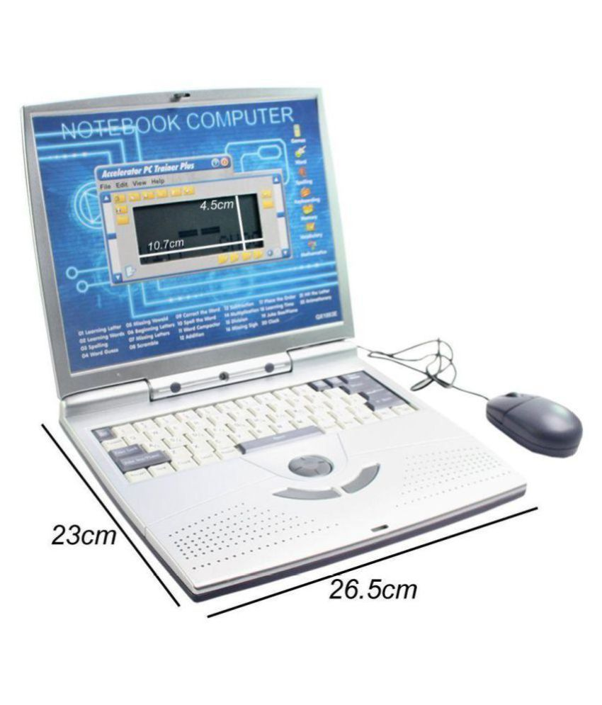 Toy English Learner Educational laptop Notebook, Computer ...