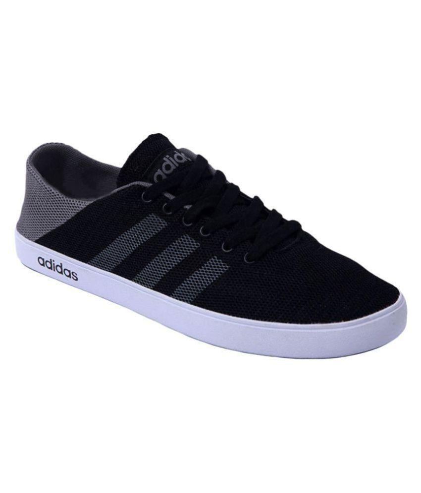 8182ea8f1da25 Adidas Black Casual Shoes - Buy Adidas Black Casual Shoes Online at Best  Prices in India on Snapdeal