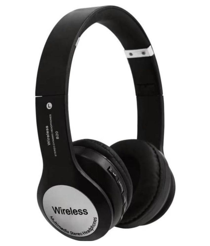 Avika B20-premium Wireless Bluetooth Headphone Black