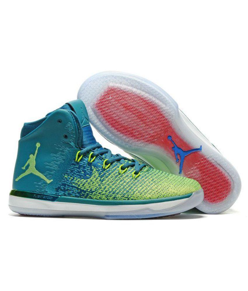 nike air jordan 31 xxx1 rio brazil green basketball shoes buy nike rh snapdeal com