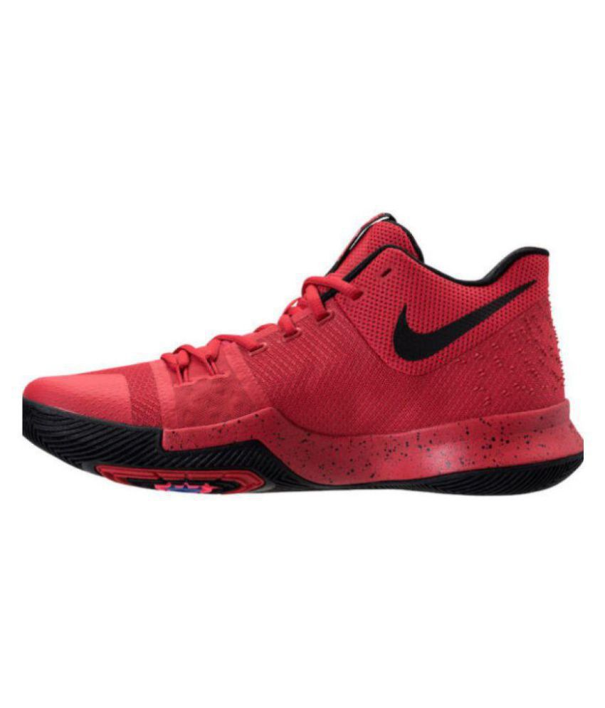 Nike kyrie 3 Red Basketball Shoes - Buy Nike kyrie 3 Red Basketball ... 9fbc83c59fc77