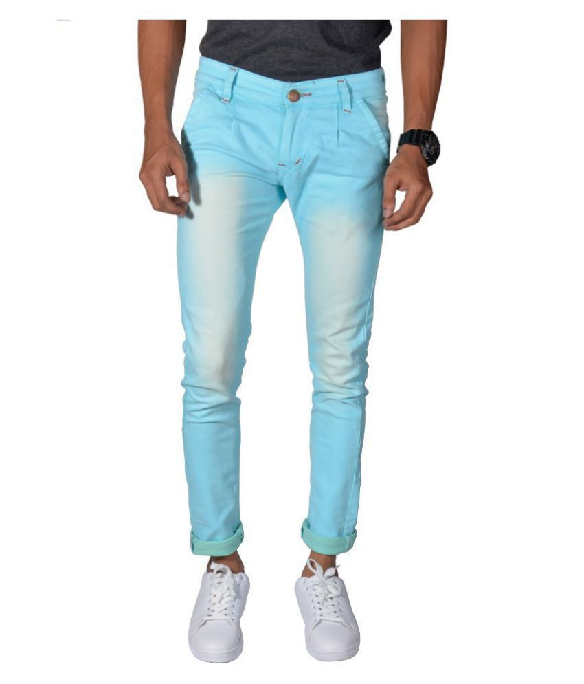 Noori Blue Regular Fit Jeans