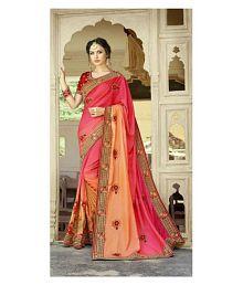 Ghoomar Trendz Multicoloured Net Saree