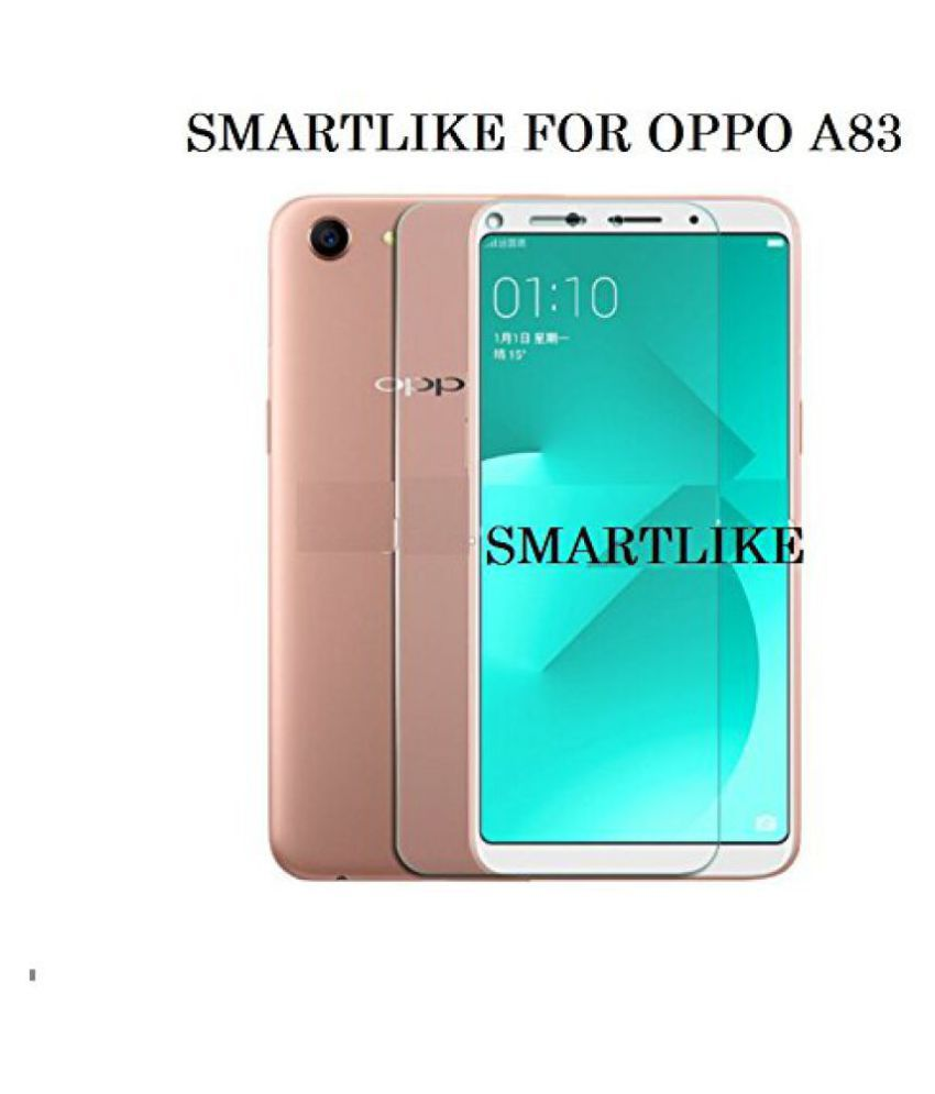 Oppo A83 Tempered Glass Screen Guard By Mascot Max