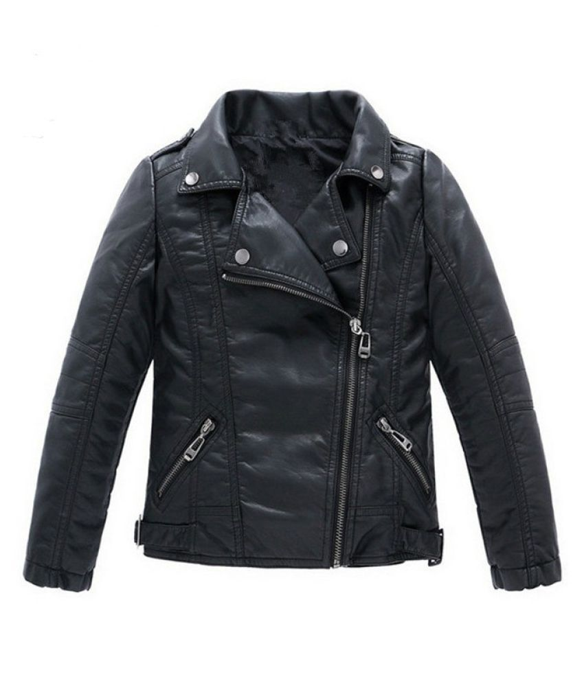 Changing Destiny Children's Black Leather Jackets