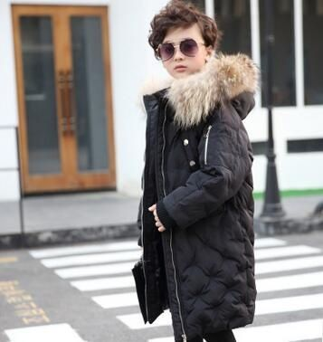 Changing Destiny kids black Down jacket/coat