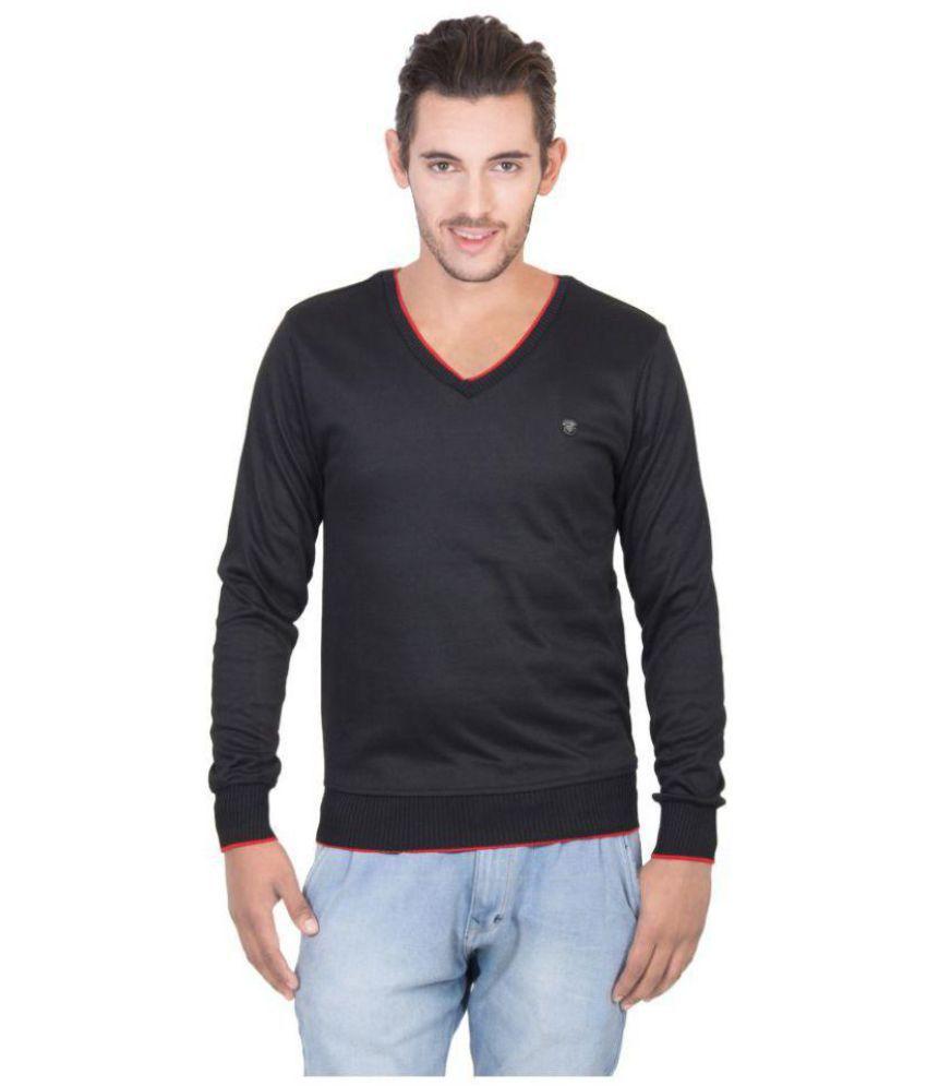 Concept Black V Neck Sweater