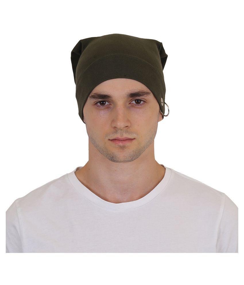 Goodluck Green Cotton Caps