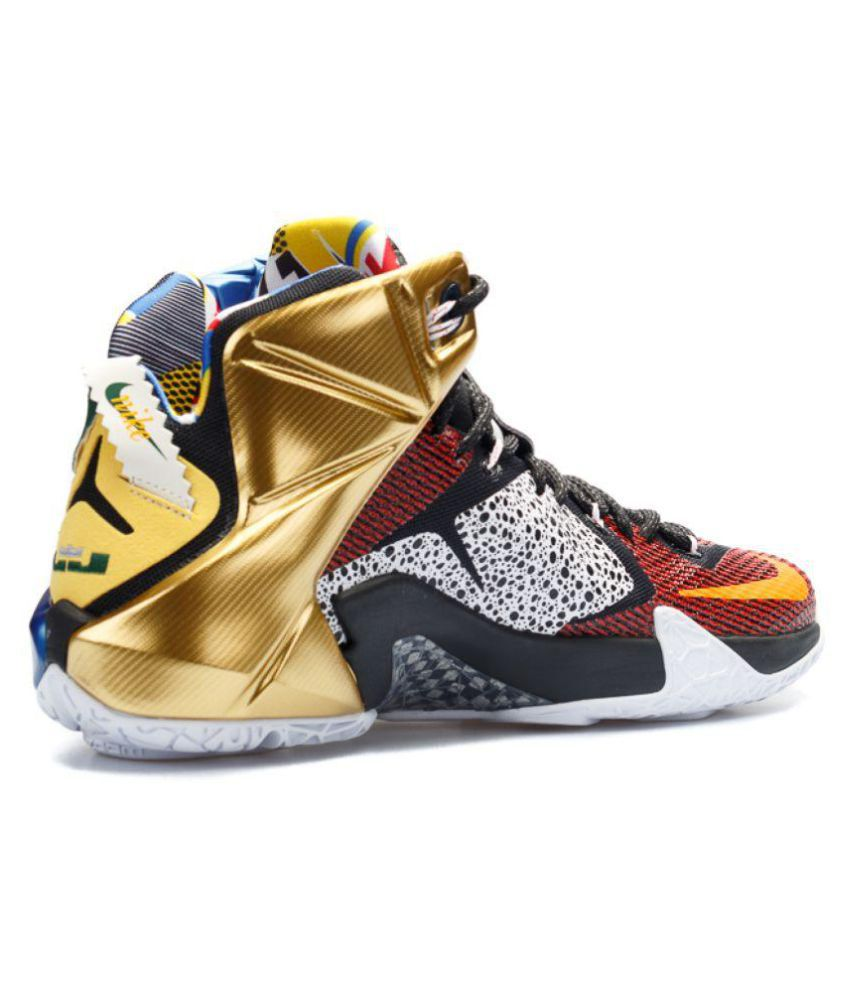 fbd048cfb7d8a Nike LEBRON X12 EIDITION SPORT 32 Multi Color Basketball Shoes - Buy ...