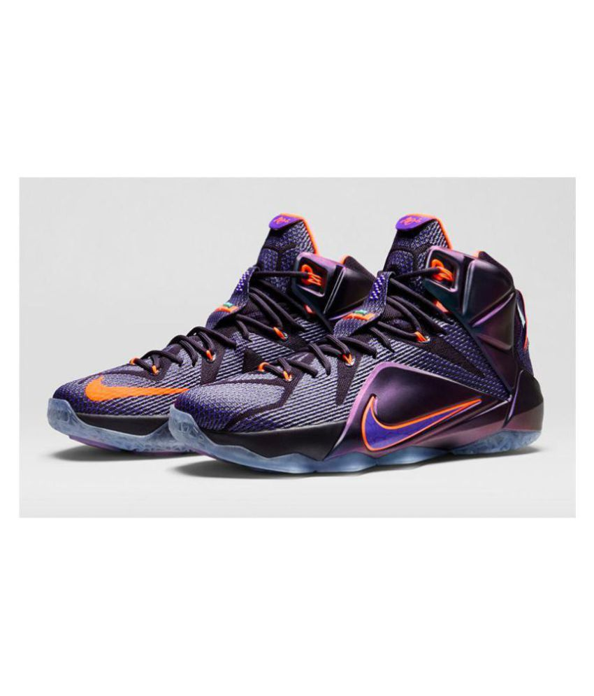 Nike lebron james 12 Purple Basketball Shoes - Buy Nike ...