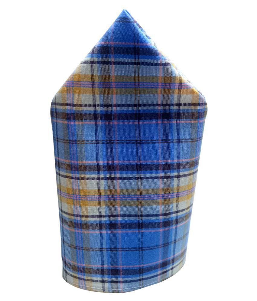 Mentiezi Cotton Multicolor Pocket Square