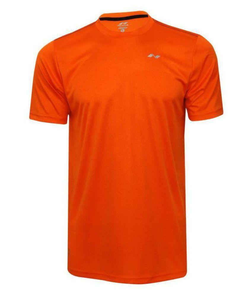 Nivia Orange Polyester Jersey-2205M2
