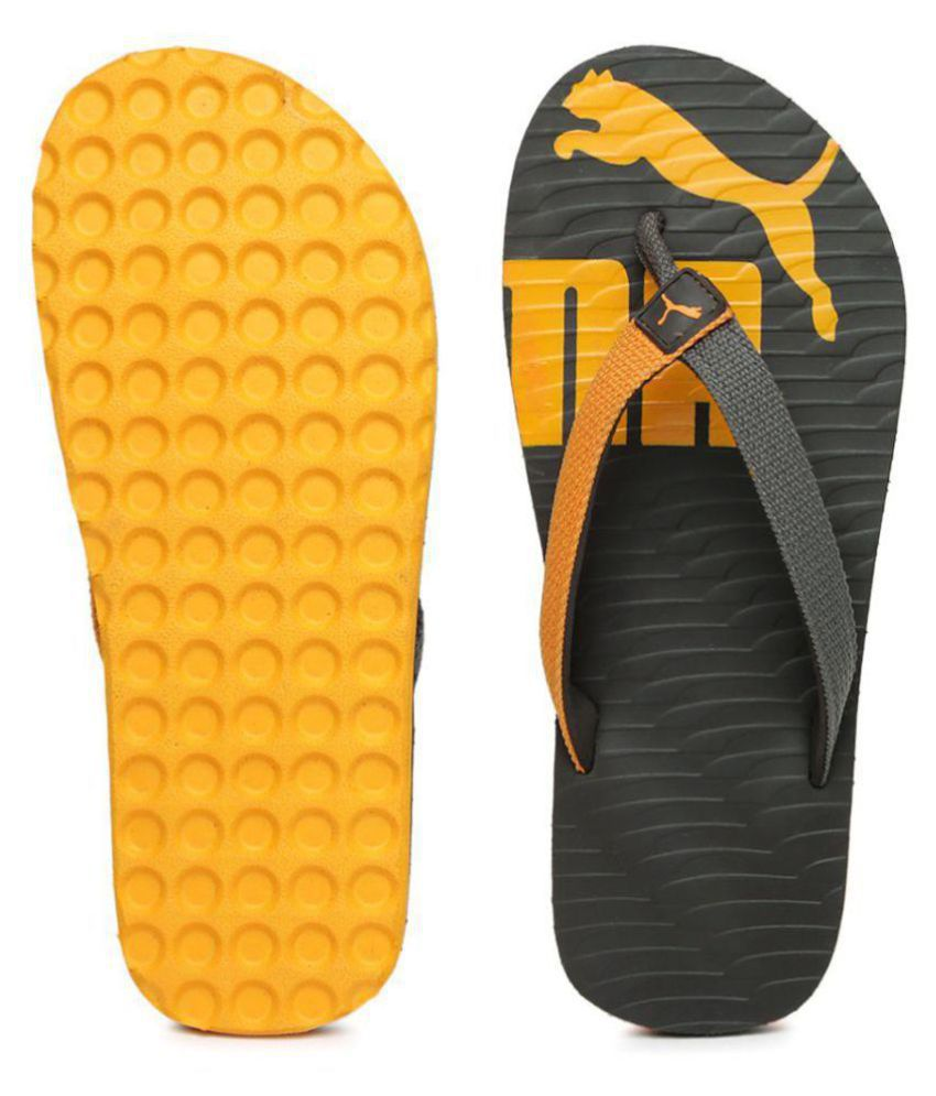 f4cd180febd Puma Unisex Miami Valueline II DP Gray Thong Flip Flop Price in India- Buy  Puma Unisex Miami Valueline II DP Gray Thong Flip Flop Online at Snapdeal