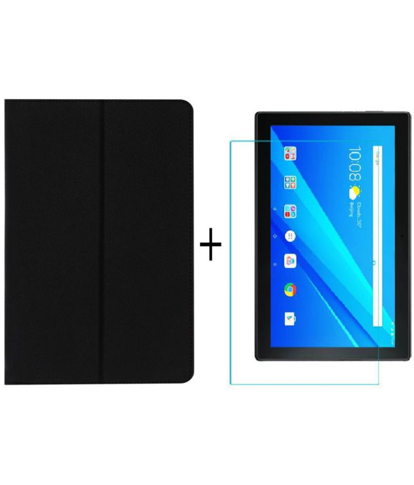 Lenovo Tab 4 10 Cover Combo By Colorcase Black