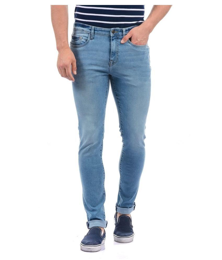Aeropostale Blue Regular Fit Jeans