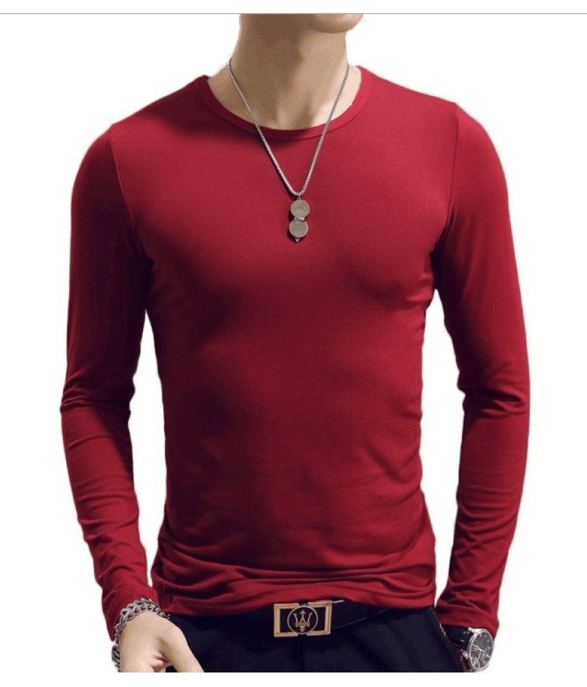 Changing Destiny Red Full Sleeve T-Shirt