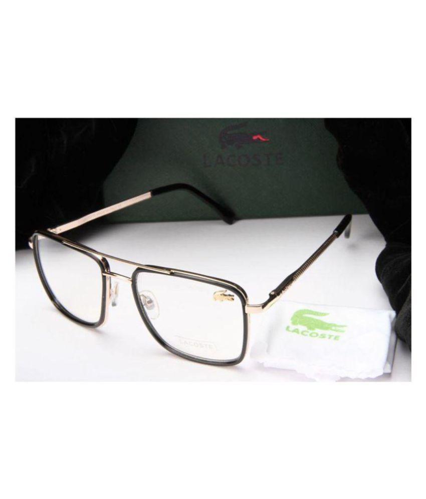 6ff84f79c61 LACOSTE SUNGLSS Clear Square Sunglasses ( L447 ) - Buy LACOSTE ...
