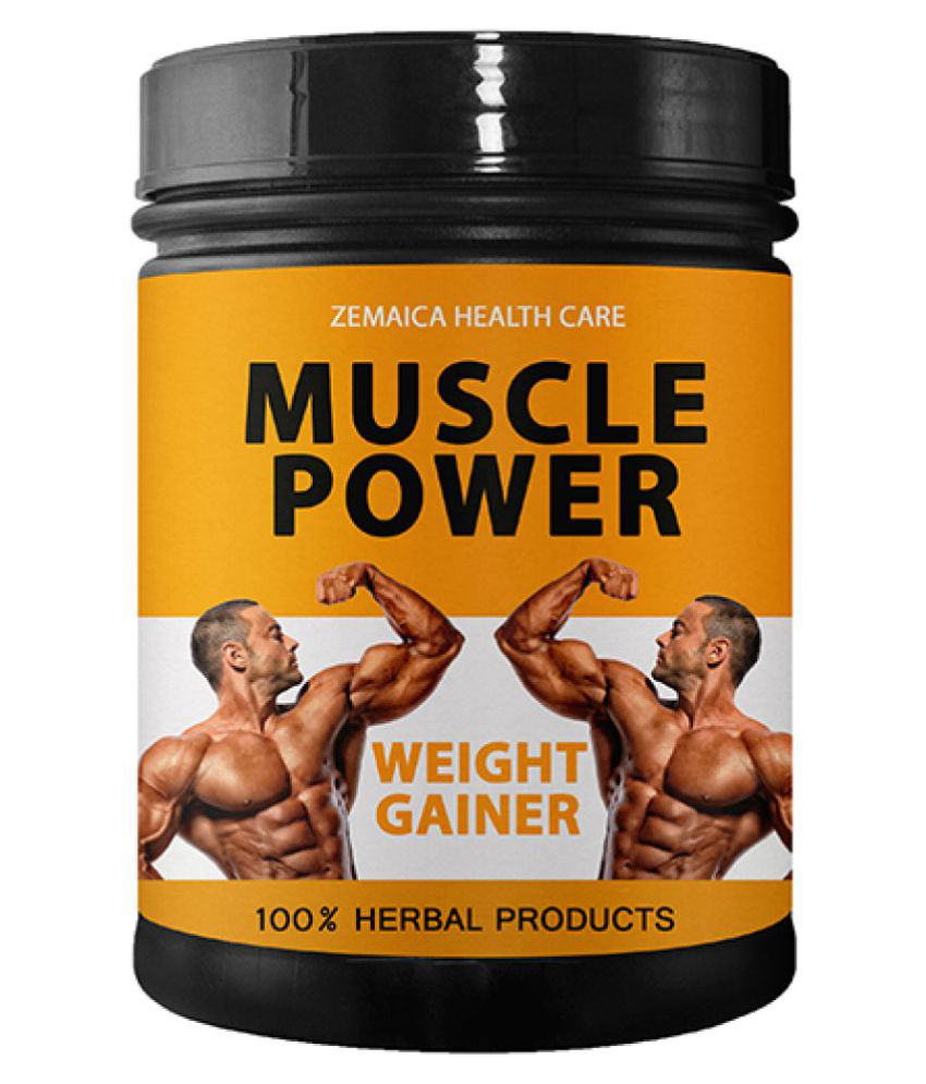 Zemaica Healthcare india best 500 gm Weight Gainer Powder