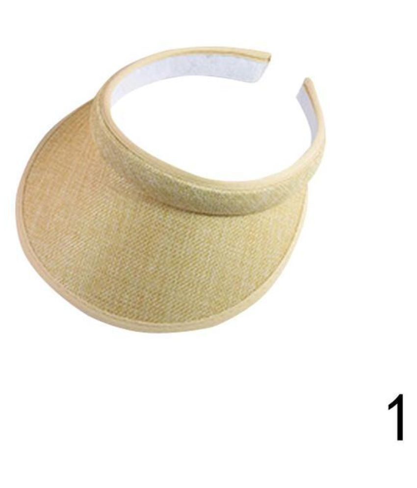 4224ada5 Cute Bow Sun Hat Female Beach Hat Wide Brim Straw Sun Visor Hat Cap Summer  Hats: Buy Online at Low Price in India - Snapdeal