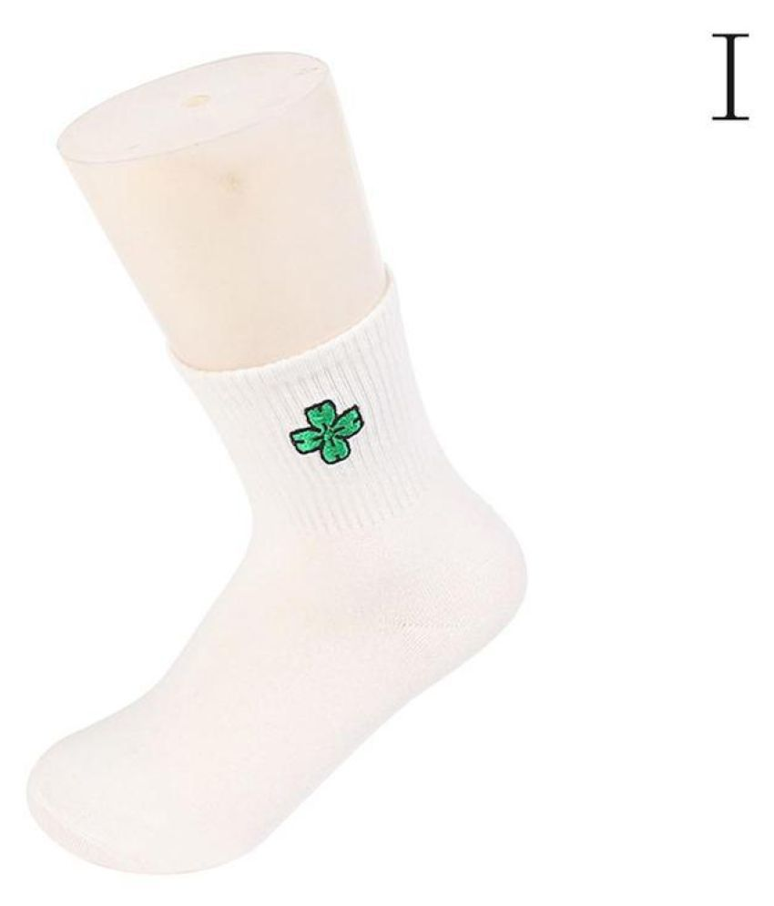 Fashion New Women Men Unisex Soft Cotton Harajuku Socks