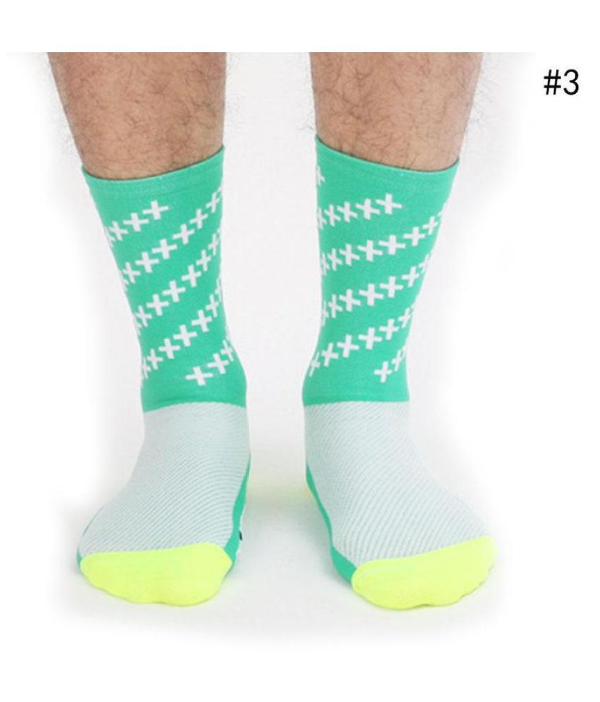 High Quality Sport Outdoor Mountain Cycling Socks Compression cotton blend Sock Running Basketball Soccer Socks