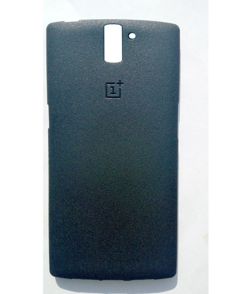OnePlus One Plain Cases CrackerDeal - Black